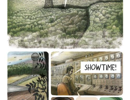 Proefplaten stripverhaal