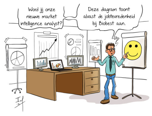 Cartoon vacature