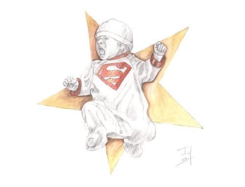 Vrij werk: Mijn eerste superkrachten