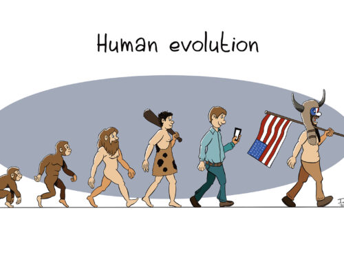 Human evolution on Capitol Hill